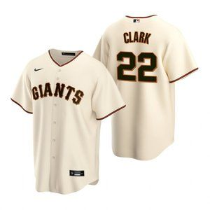 San Francisco Giants Will Clark Jersey Cream